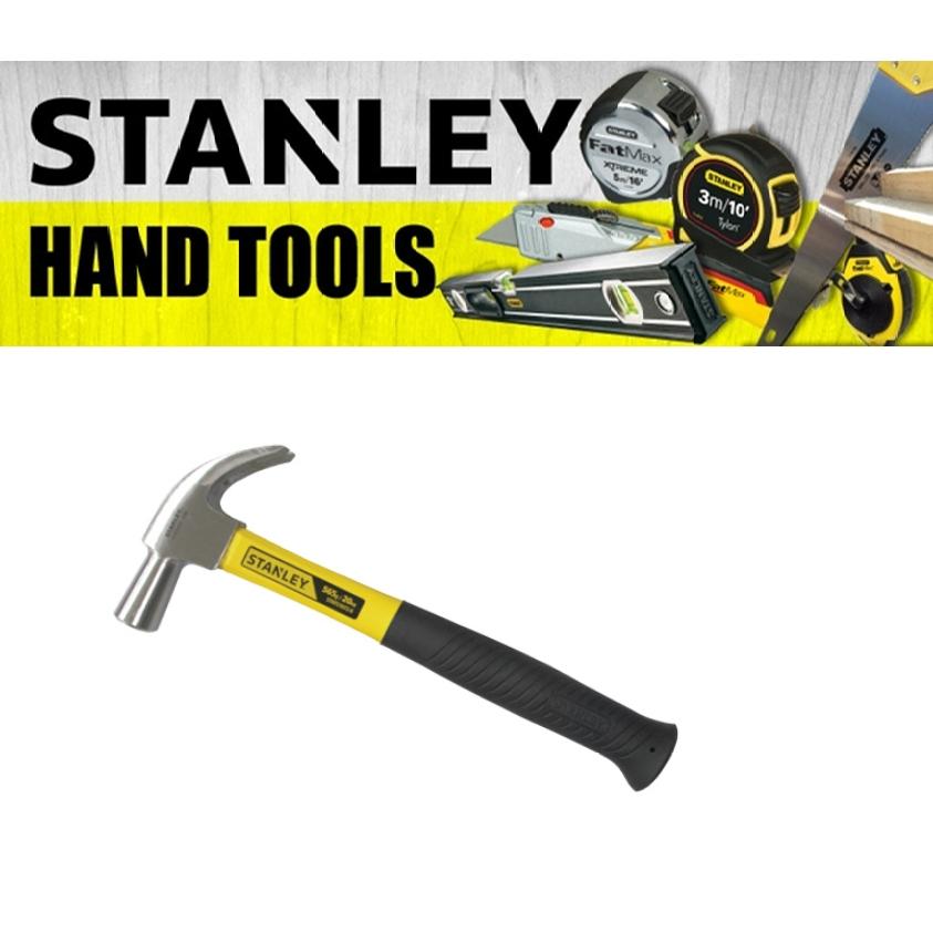 STANLEY FIBREGLASS HANDLE CLAW HAMMER 51-071 51-072 335MM 13-1/4'' INCH