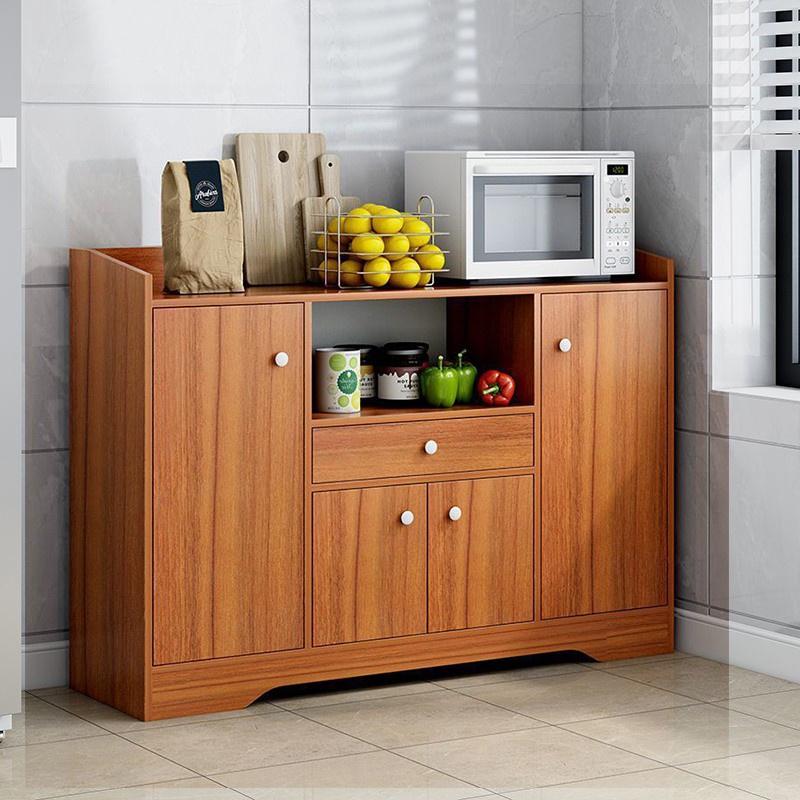 GDeal Kitchen Storage Multifunctional Side Cabinet Sideboard Modern Storage Cabinet
