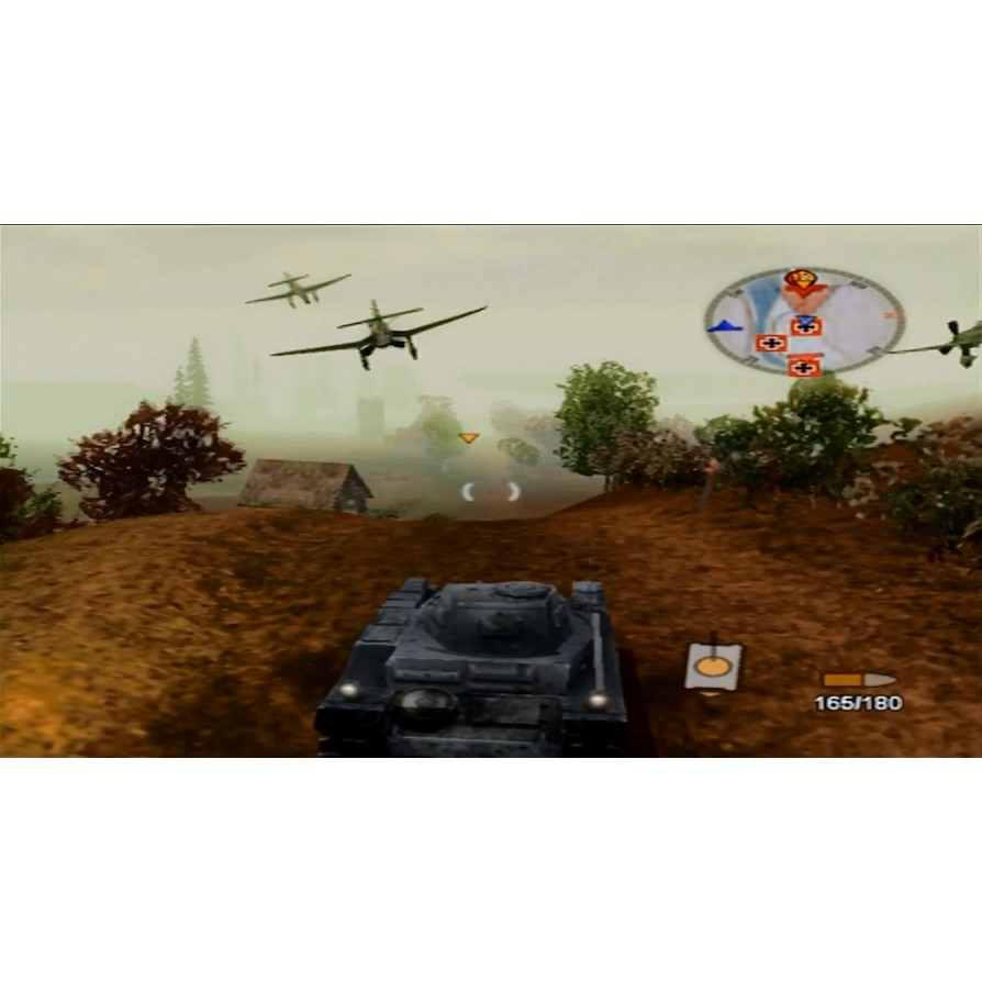 PS2 Game Panzer Elite Action: Fields of Glory, Vehicular Combat Game, English version / PlayStation 2