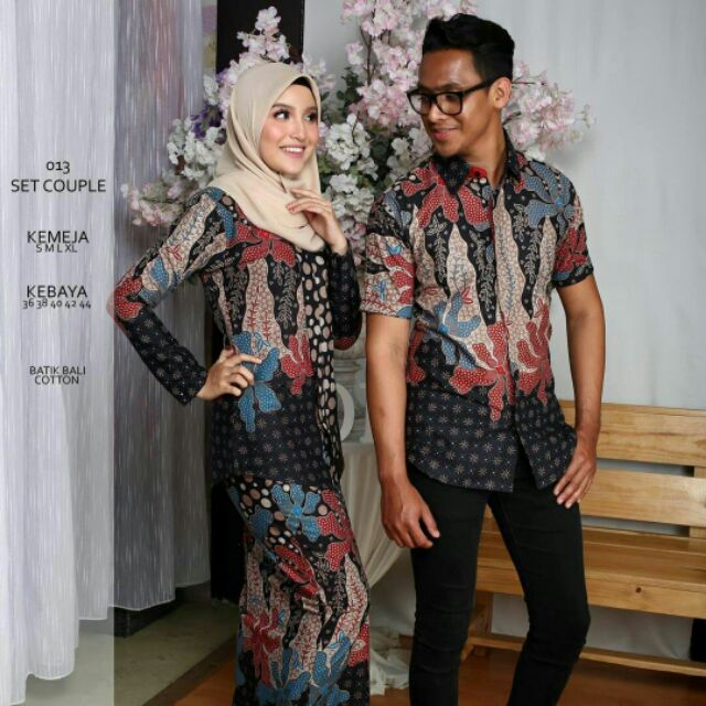couple batik - Prices and Promotions - Muslim Fashion Jan 2019 ... 476099aa72