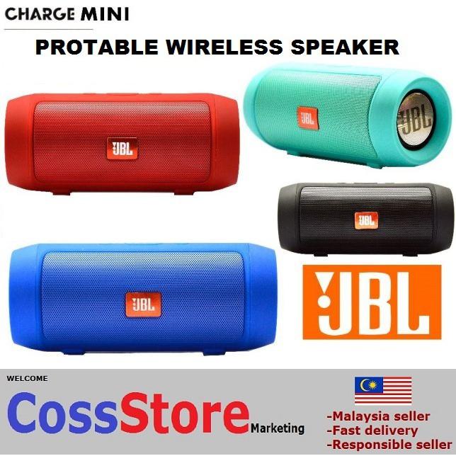 JBL Charge 3 Splashproof Portable Wireless Bluetooth Speaker with 2k mAh Battery   Shopee Malaysia