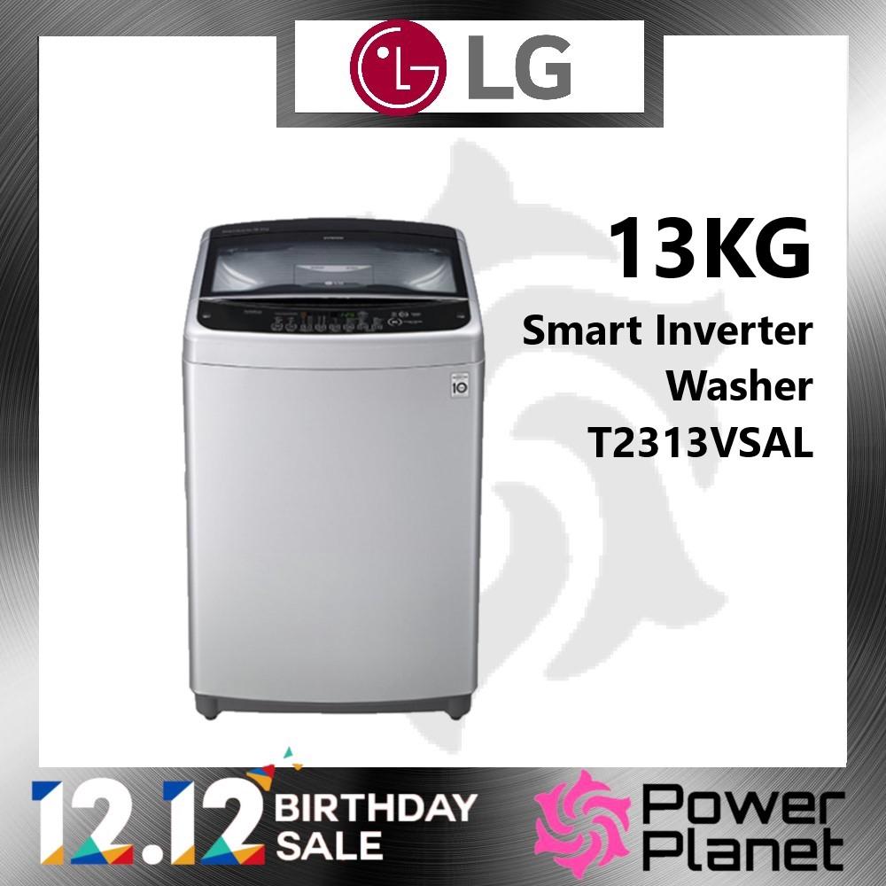LG Washing Machine T2313VSAL 13KG Smart Inverter Washer