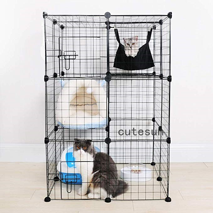 Pet Products Cat House Pet Sleeping Bag 2 Story Level Cat Hammock Cage Hanging Bedding Cat Supplies Pet Products