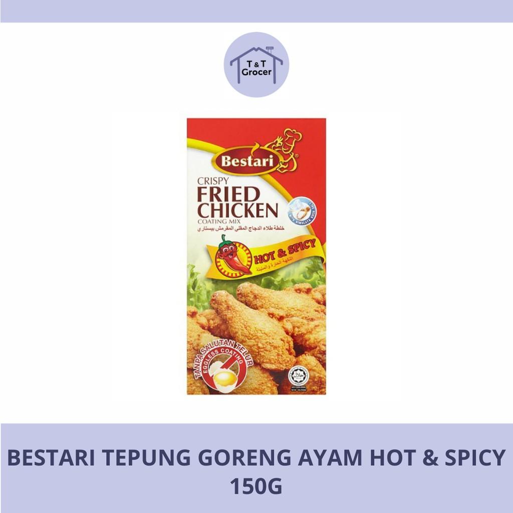 Bestari Tepung Goreng Ayam 150g (Asli/ Pedas)
