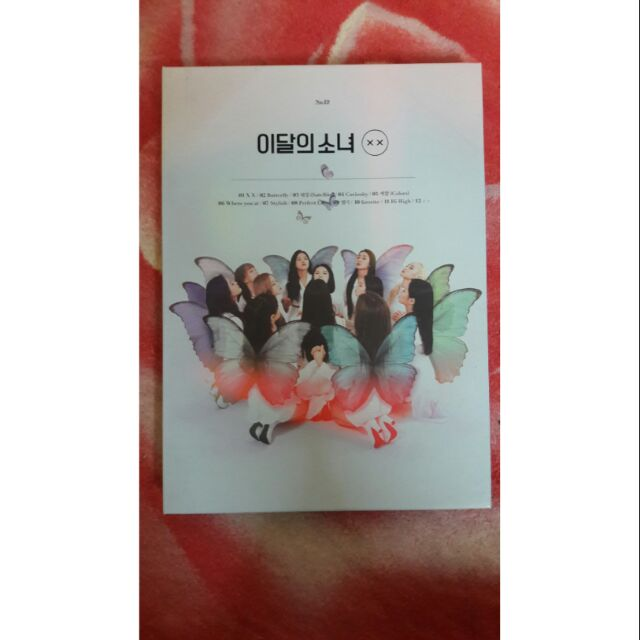 Loona XX: Mini Repackage Album CD, (LIMITED A) UNSEALED