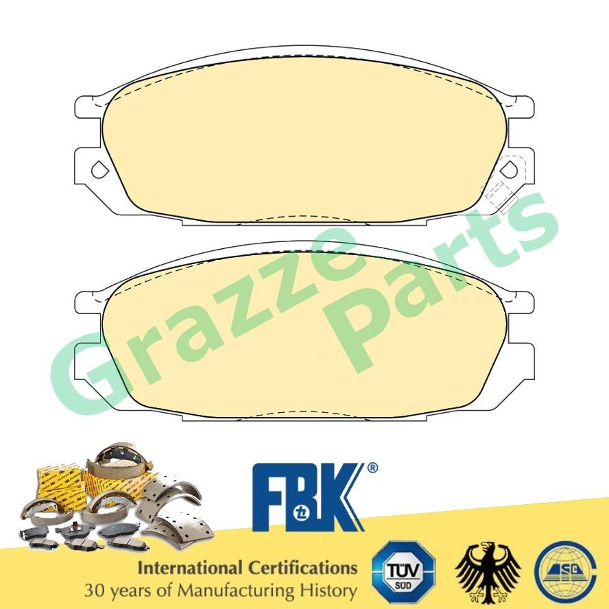 FBK Disc Brake Pad Front for FD1070S Nissan Vanette C22
