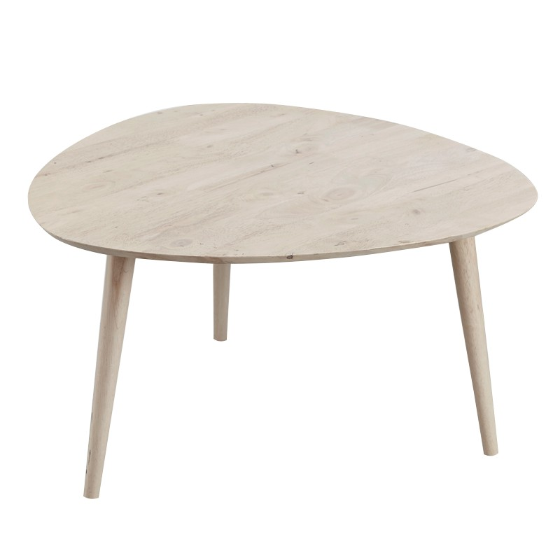 Furniture Direct BETTY FULL SOLID WOOD TRIANGLE COFFEE TABLE