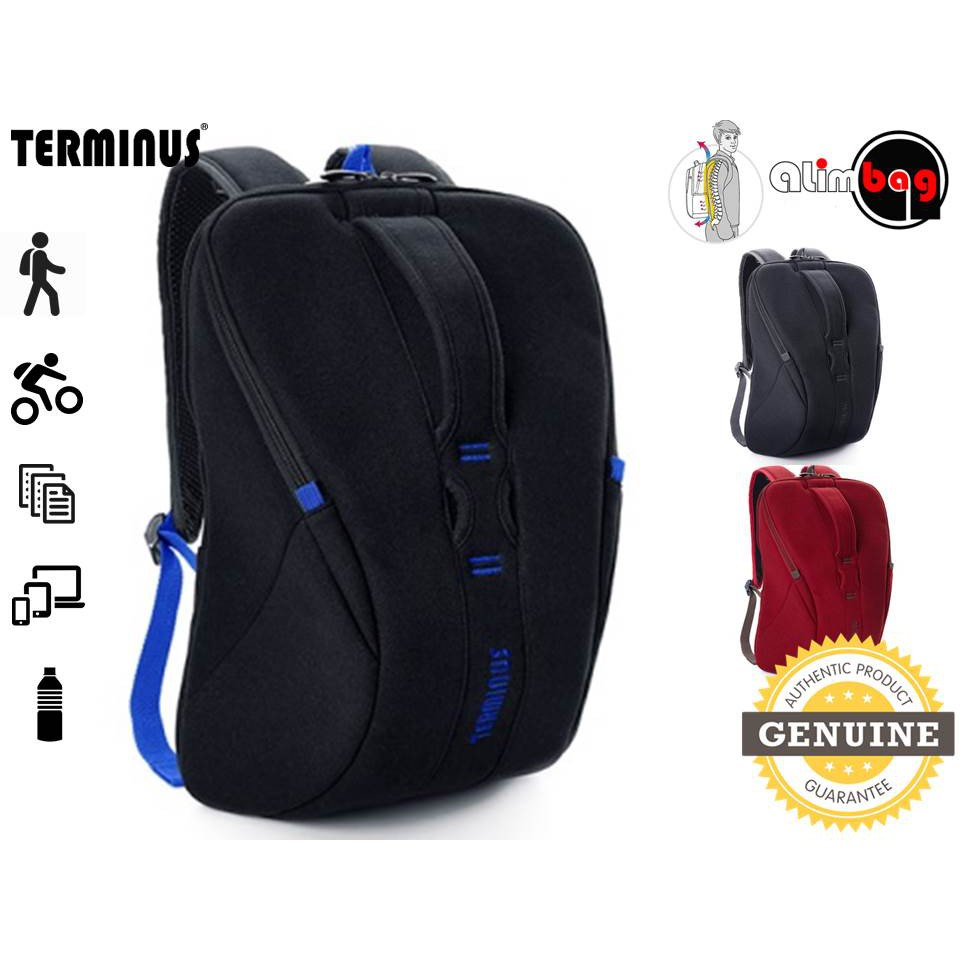 47eafe279a7 Authentic Terminus Carbon 2.0 Travel Laptop Tablet Ergonomic Backpack Bag    Shopee Malaysia