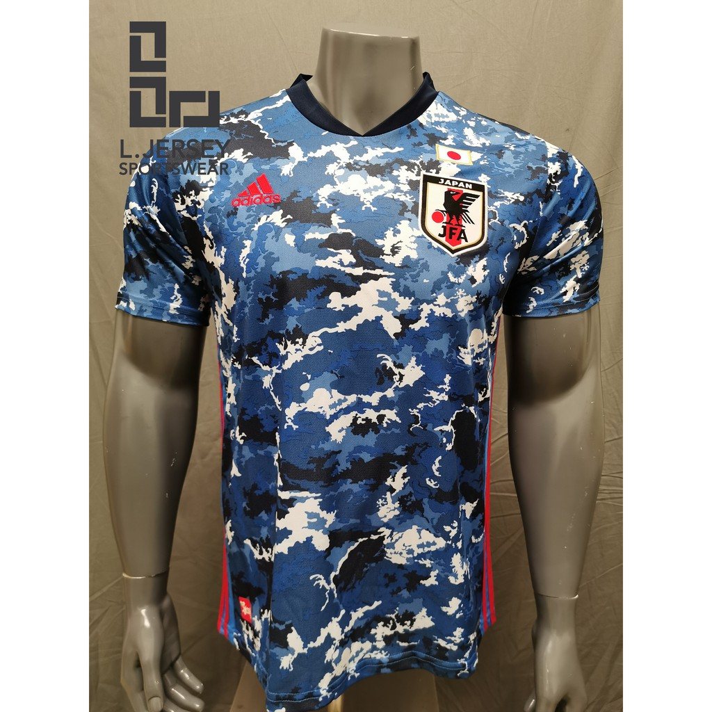 Japan Men Home Euro Cup Season 20/21 CLIMALITE Fans Jersey
