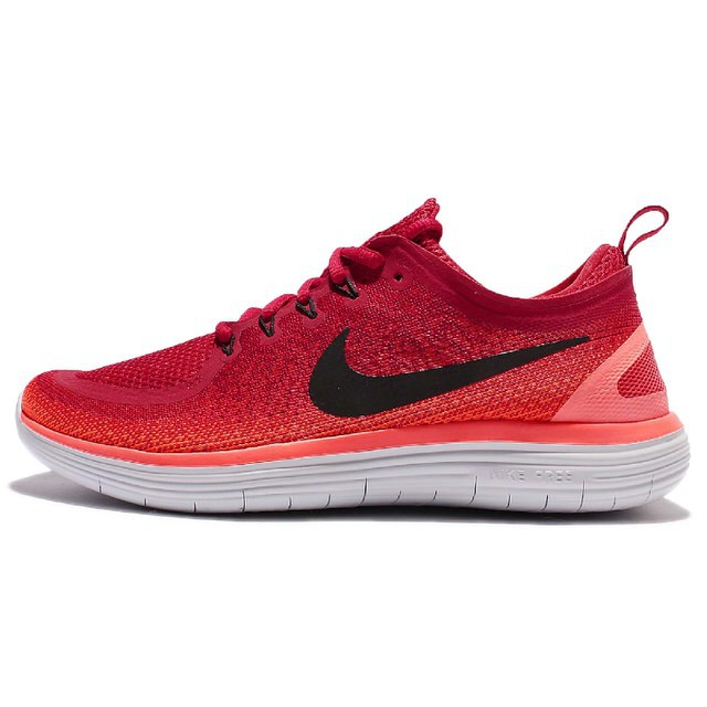 newest 2050a 18424 NIKE MEN FREE RN DISTANCE 2 RUNNING SHOE GYM RED 863775-600 US7-11 03'