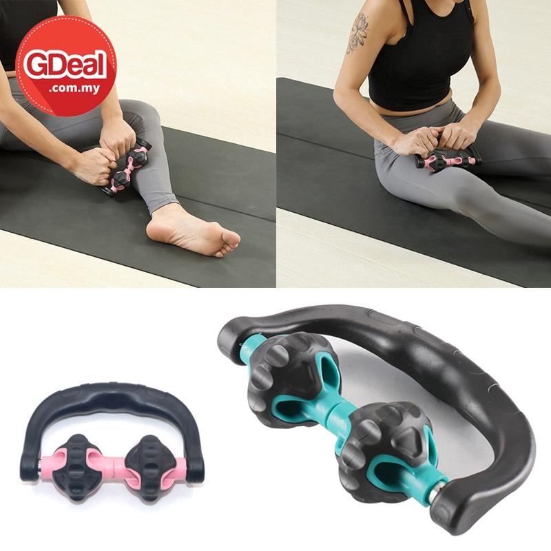 GDeal Fitness Arms Pain Stress Reliever Roller Unisex Handheld Muscle Massage Stick Peralatan Kecergasan ڤرالتن کچرڬسن