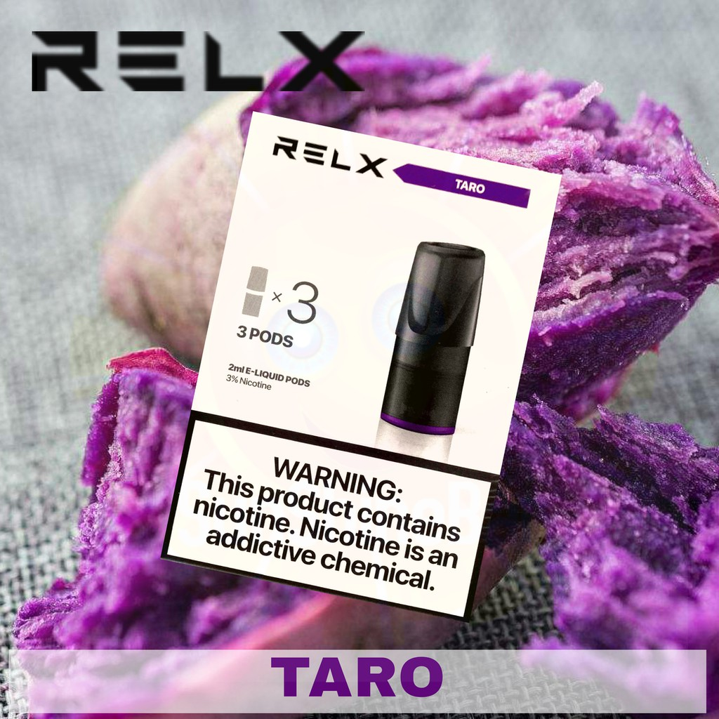 Relx TARO Flavour | Relx Refill Pod | Relx TARO Flavor | Relx Pods ...