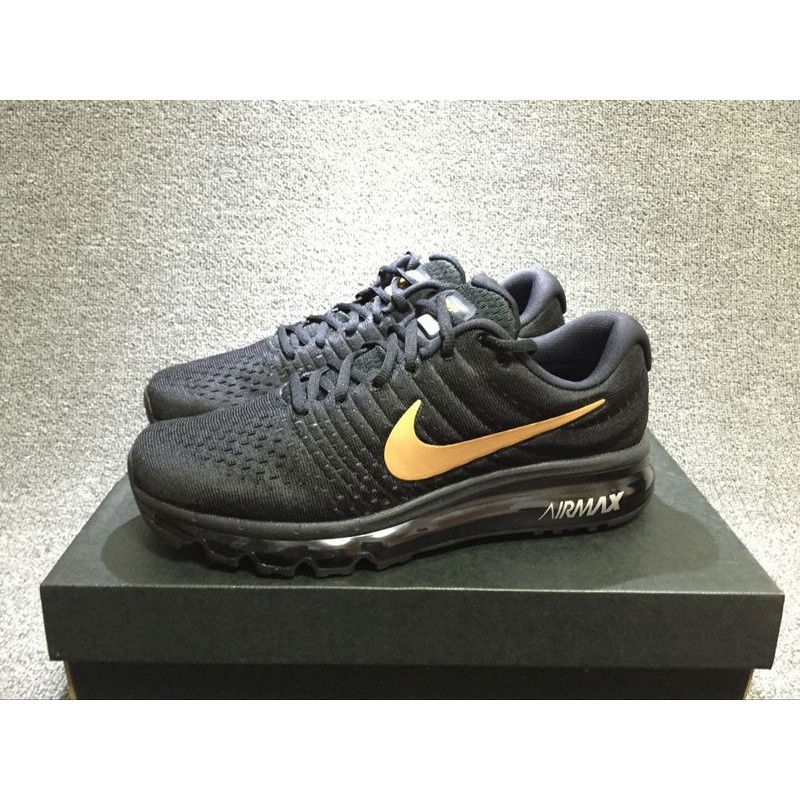 air max 2017 black and gold