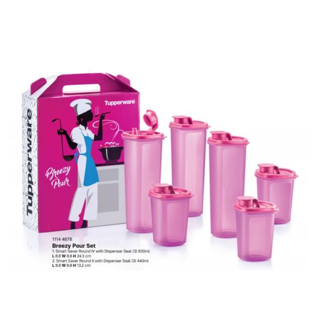 Tupperware Breezy Pour Set (6pcs)