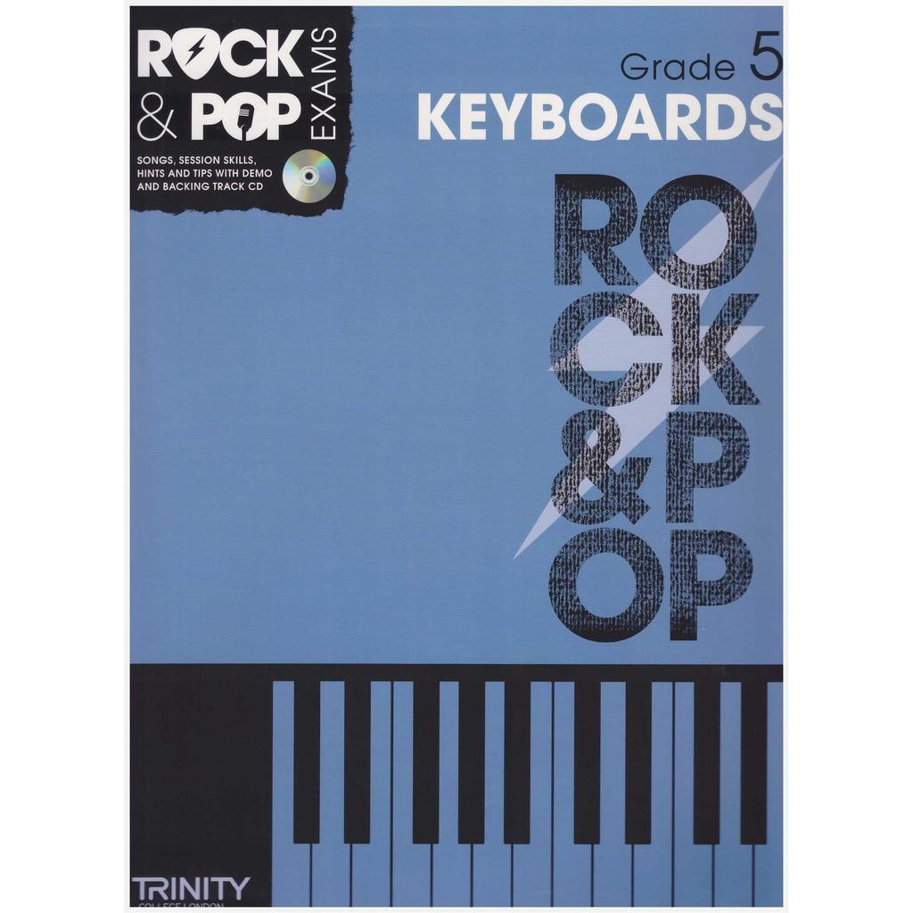 Trinity Rock & Pop Keyboard Exam Grade 5 (2012-2017) / Keyboard Book / Practical Book