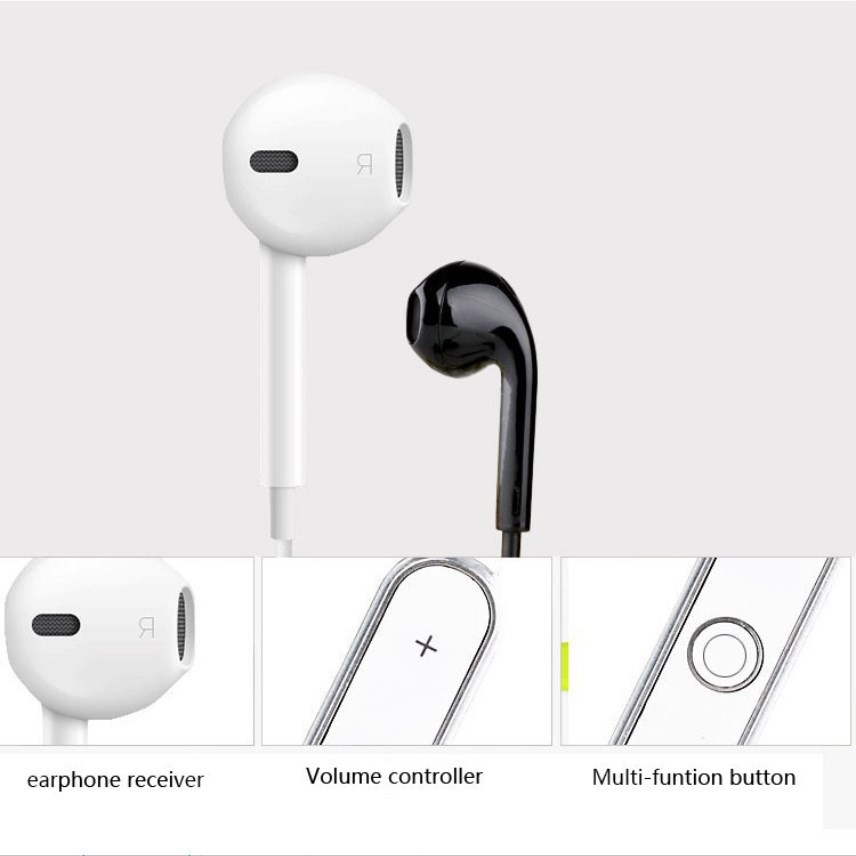 S6 Sport Wireless Headset Bluetooth Stereo Aural Earphone Bluetooth Earbuds