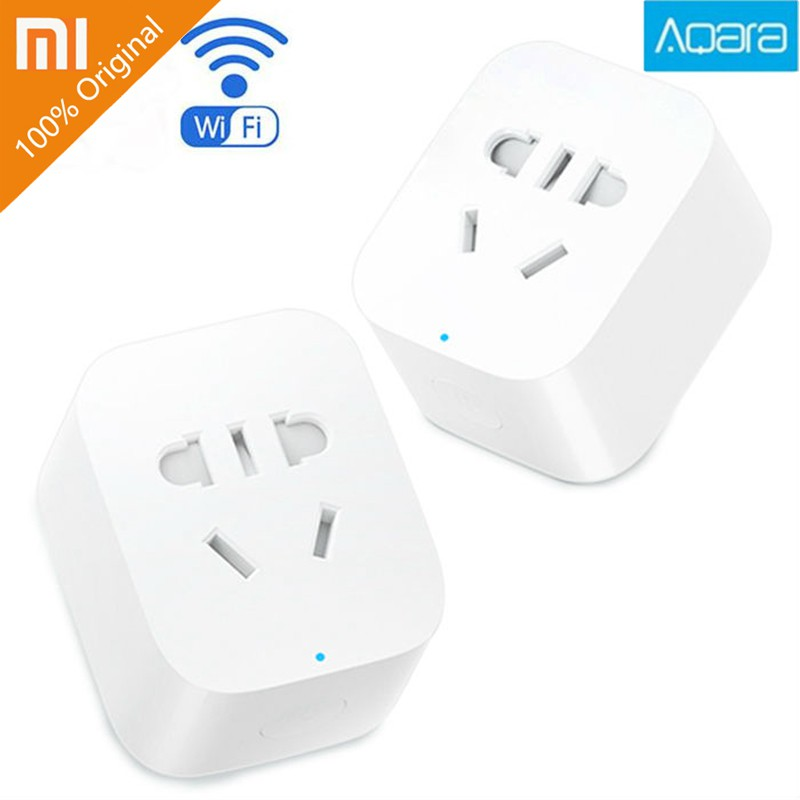 100% Original Xiaomi Aqara Mi Smart WiFi Socket Plug ZigBee Remote Control
