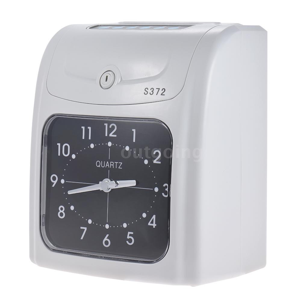 PCER◆Electronic Employee Time Clock Recorder Attendance Time Card Machine  for Of