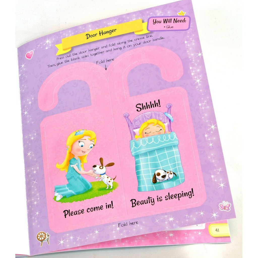 Girl with 750 Stickers and Activity Fun Book l My Magical Fairytales (Giant S & A Fairytale Fun) lBuku Stiker