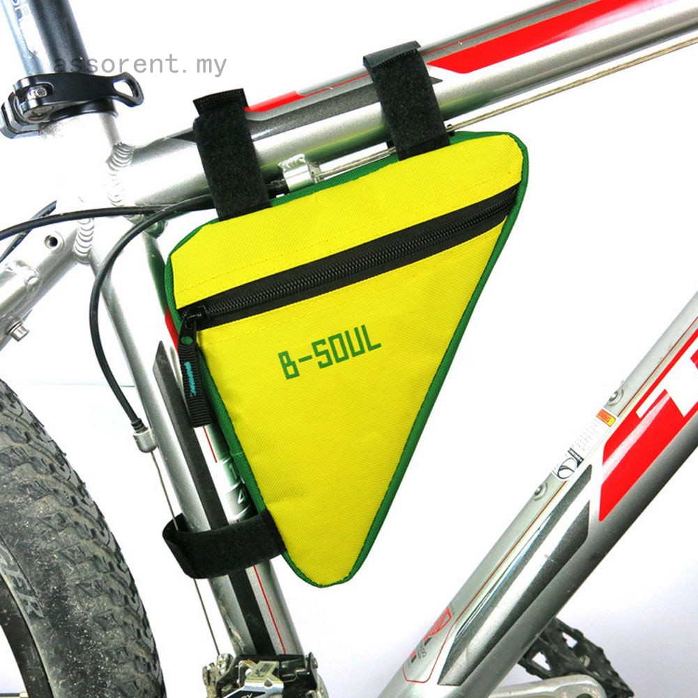 Cycling Bicycle Bags Front Triangle Frame Top Tube MTB Bike Triangle Pouch Pack
