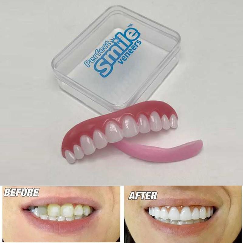 Cosmetic Teeth Perfect Instant Smile Veneers Comfort Fit Top False