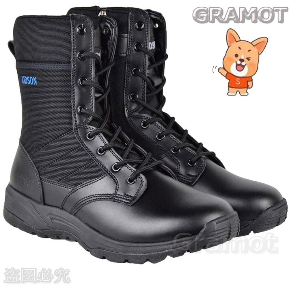 IODSON Men's LZB Black Desert Combat Boot, Army Zipper Military Tactical  Boots,ankle safety boots | Shopee Malaysia