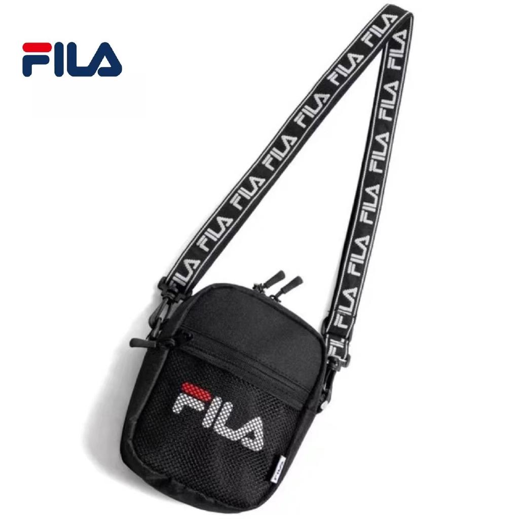 aa63908407 Original Fila Shoulder Bag Outdoor Sport Sling Bags gym Chest messenger  Begs