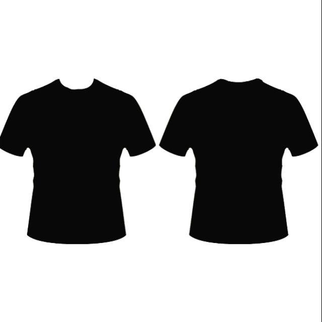 Baju Hitam Kosong Murah Shopee Malaysia