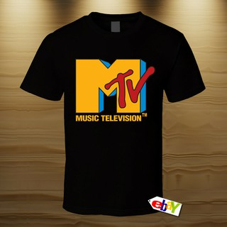 259e4f0a8e7 Gildan cotton clothing NEW MTV Logo T Shirt Men's 100% cotton Tshirt ...