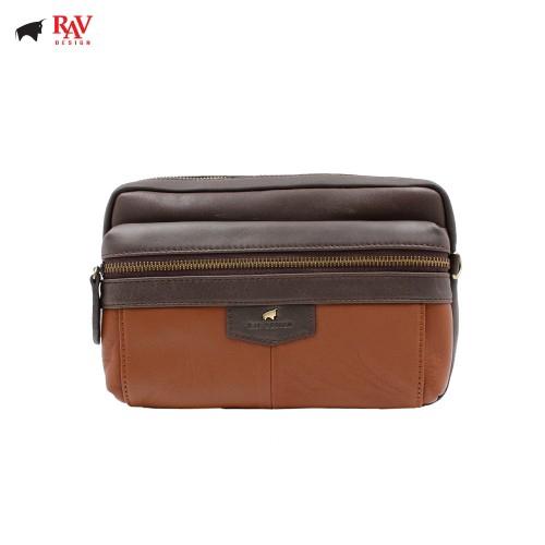 Rav Design Leather Anti-RFID Casual Bag |RVC438G2