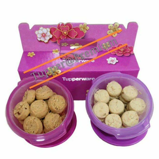 ❤️READY STOCK 2021❤️Tupperware CNY Cookies Gift Set include box as same like pic
