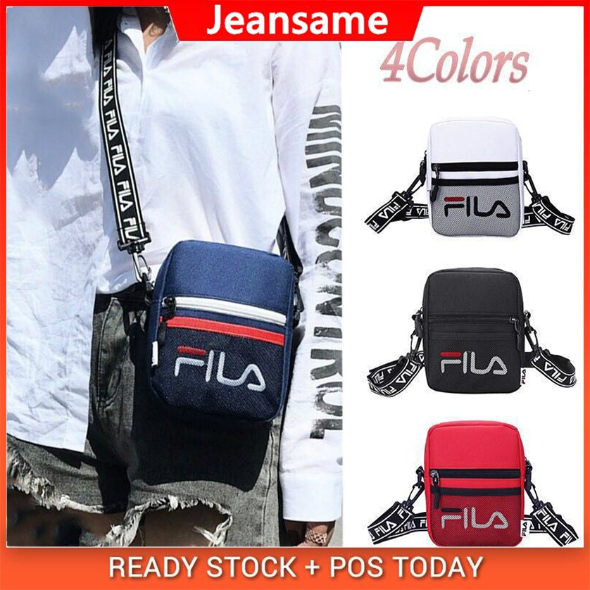 Ready Stock New FILA 2in1 Waist Sling Bag Casual Shoulder Bags