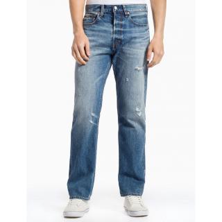2019 wholesale price top brands outlet boutique Calvin Klein Men Vintage Blue High Straight Selvedge Jeans