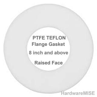 PTFE TEFLON Gasket 3mm thk FF 1/2