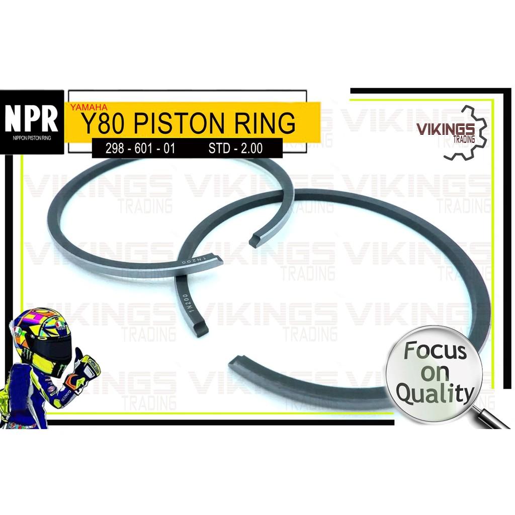 Y80 PISTON RING BRAND NPR (JAPAN)