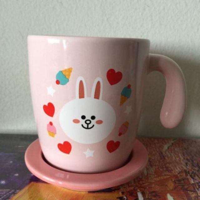 ชุดแก้วกาแฟ พร้อมจานรอง/