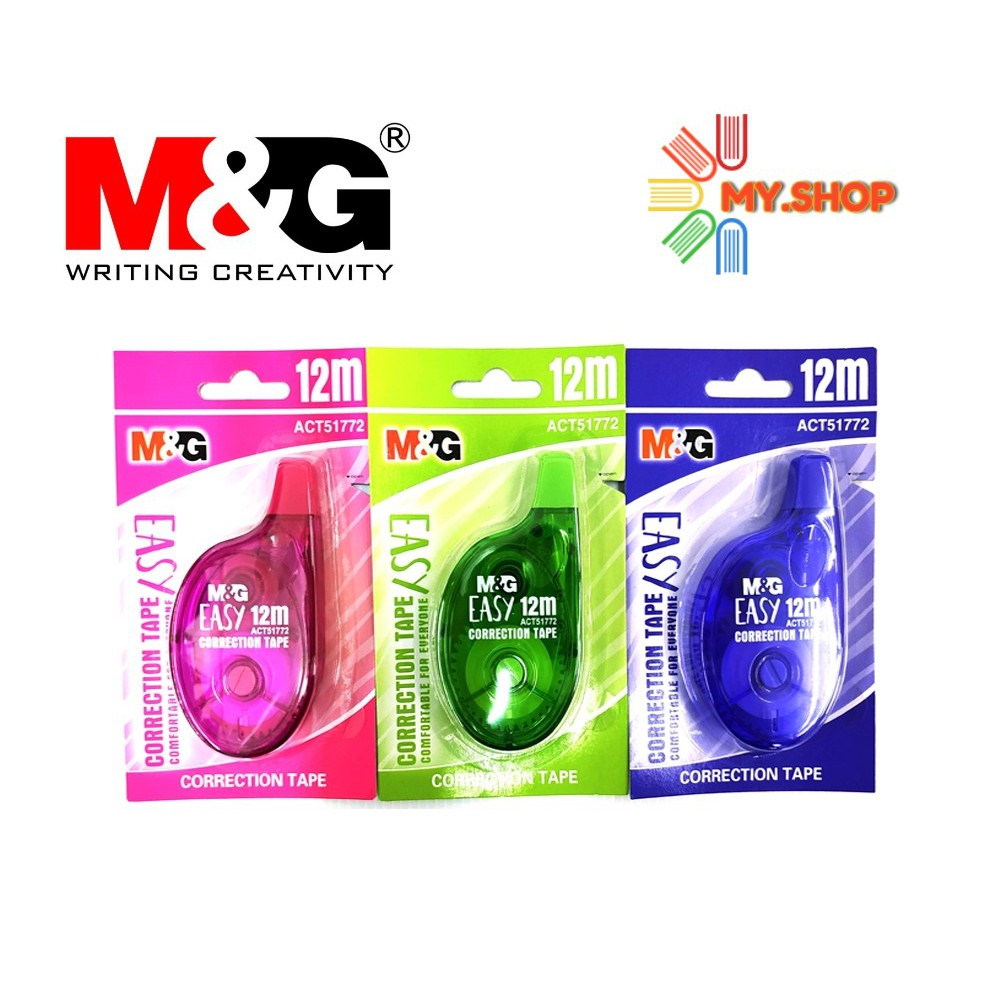 M&G Correction Tape 12M x 5MM ACT51772