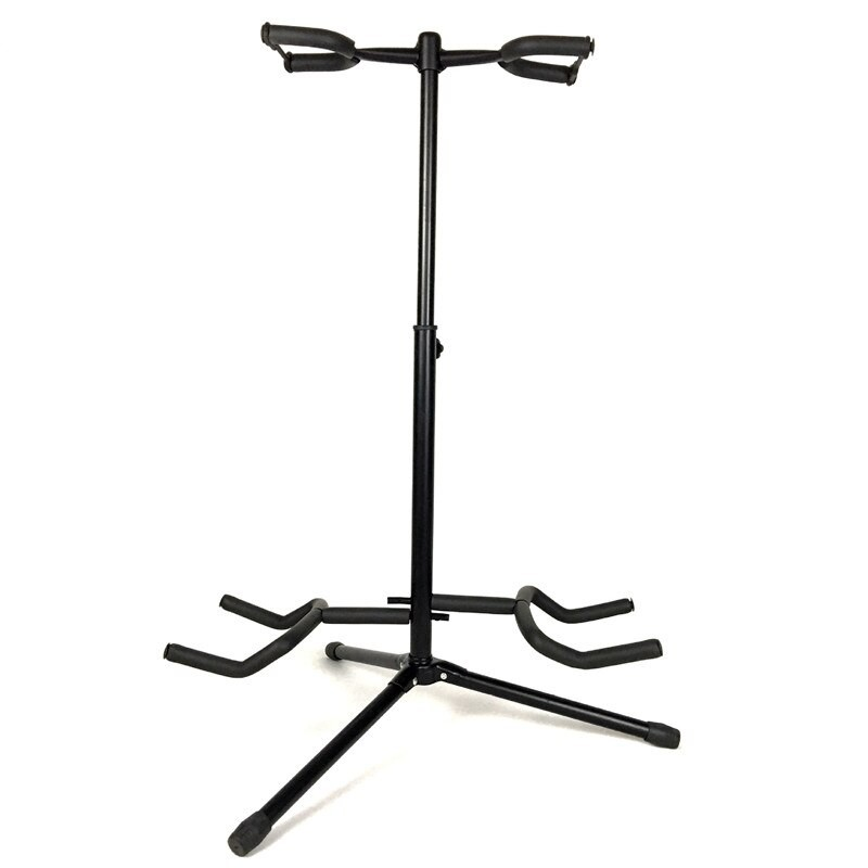Music Folding Stand Padded for Acoustic Electric Bass Guitar Studio Hanger