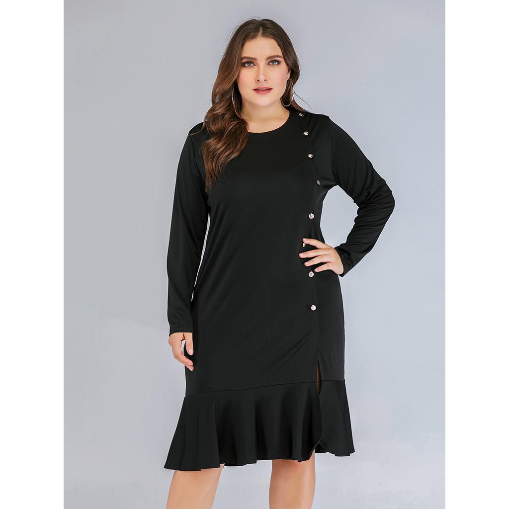 4b61cb8e6c Women's Casual Beach Style Plus Size Midi Dresses | Shopee Malaysia
