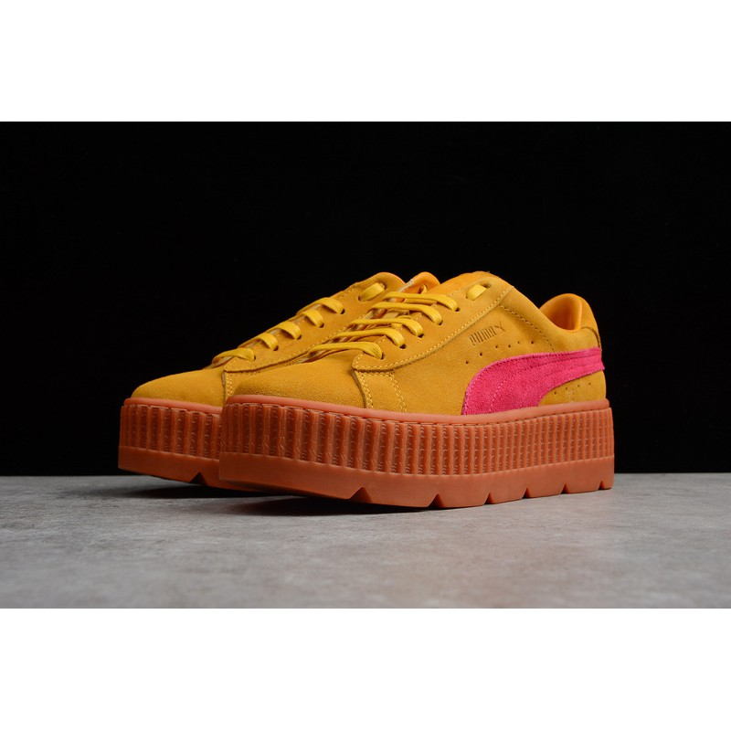 the best attitude 897c9 cb967 Puma Fenty Suede Cleated Creeper Women Sport Shoes Fashion Casual sneakers