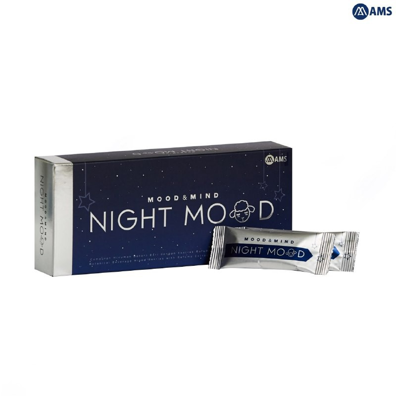 AMS Night Mood Improve Insomnia Sleep Vitamin(HALAL)睡眠维他命