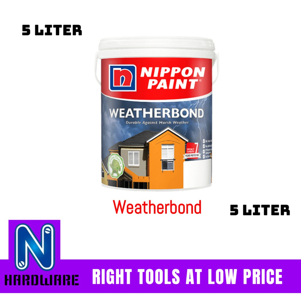 Nippon Paint Weatherbond (Page 1) Exterior Wall Paint ...