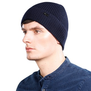 919ee5789d4639 Knitted Beanie Hat Wool Brand Hat Female and Male Skullies Couples ...