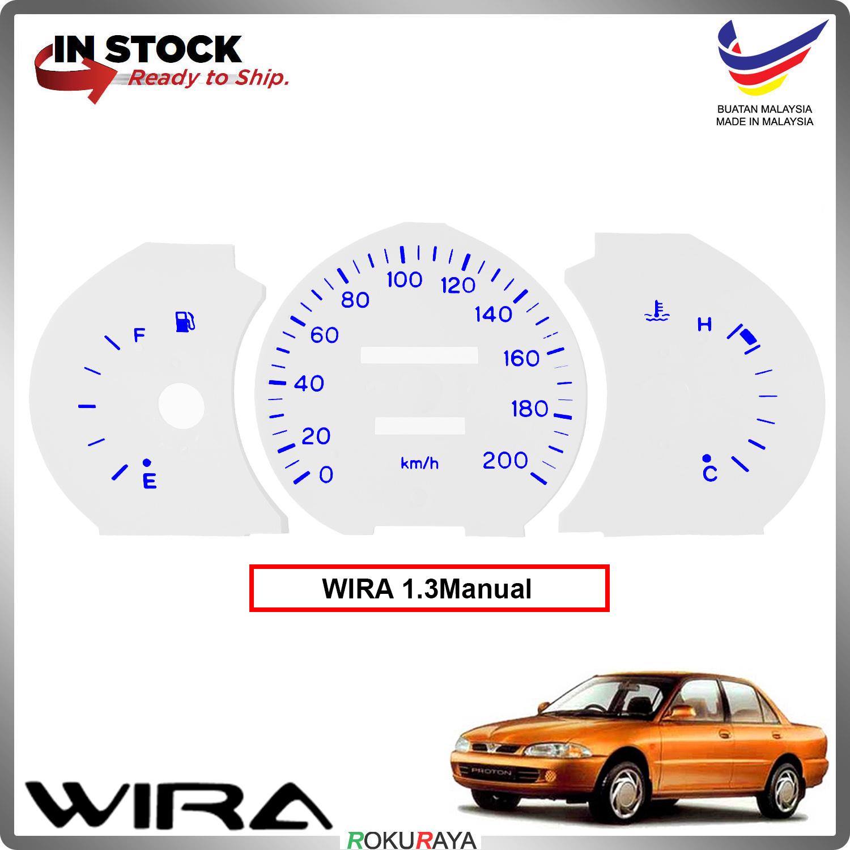 [1.3 MANUAL] Proton Wira Satria Putra Meter Panel Garnish Decoration Cover Car Accessories Parts