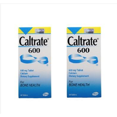 CALTRATE 600MG 60+60