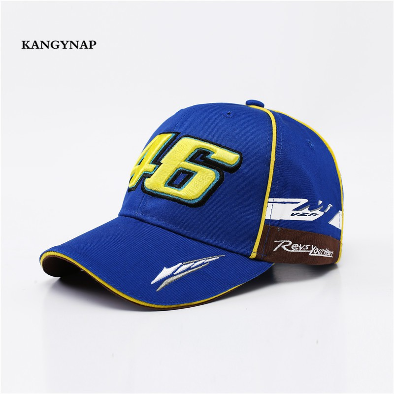 fe9fc6c50100e5 ProductImage. Snapback F1 Baseball Cap Embroidery VR - 46 Motorcycle Hat  Yamaha Hats