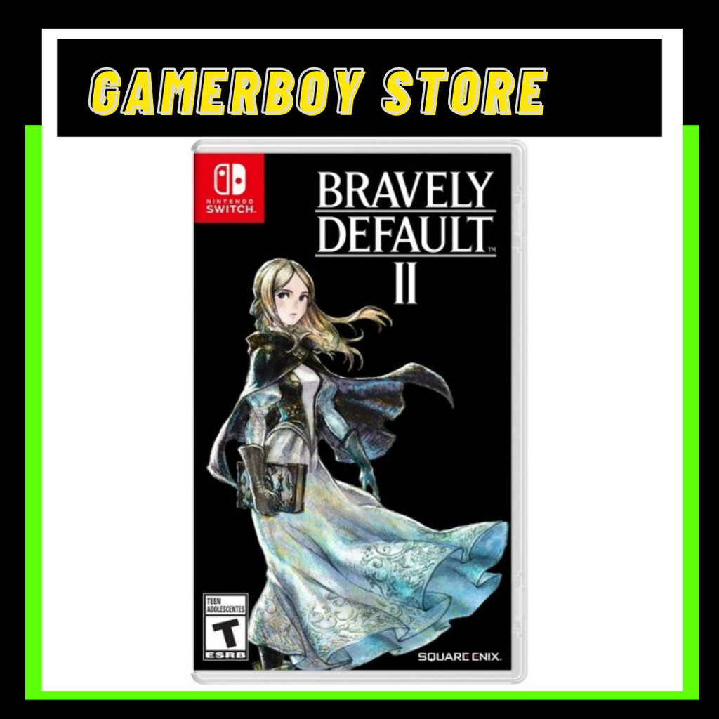 NS BRAVELY DEFAULT II [ENG] [US] [PHYSICAL CARTRIDGE]