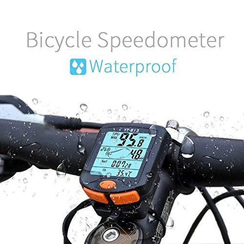 7ffab4be208a Bike Computer Wireless Black Odometer LCD Display Waterproof Bicycle  Speedometer | Shopee Malaysia