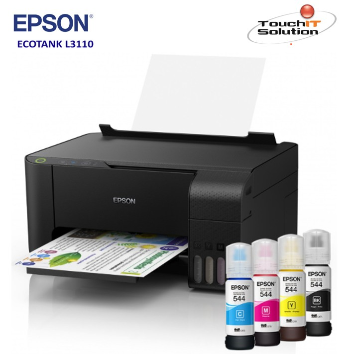 EPSON EcoTank L3110 All-in-One Ink Tank Printer (Print/Scan/Copy)