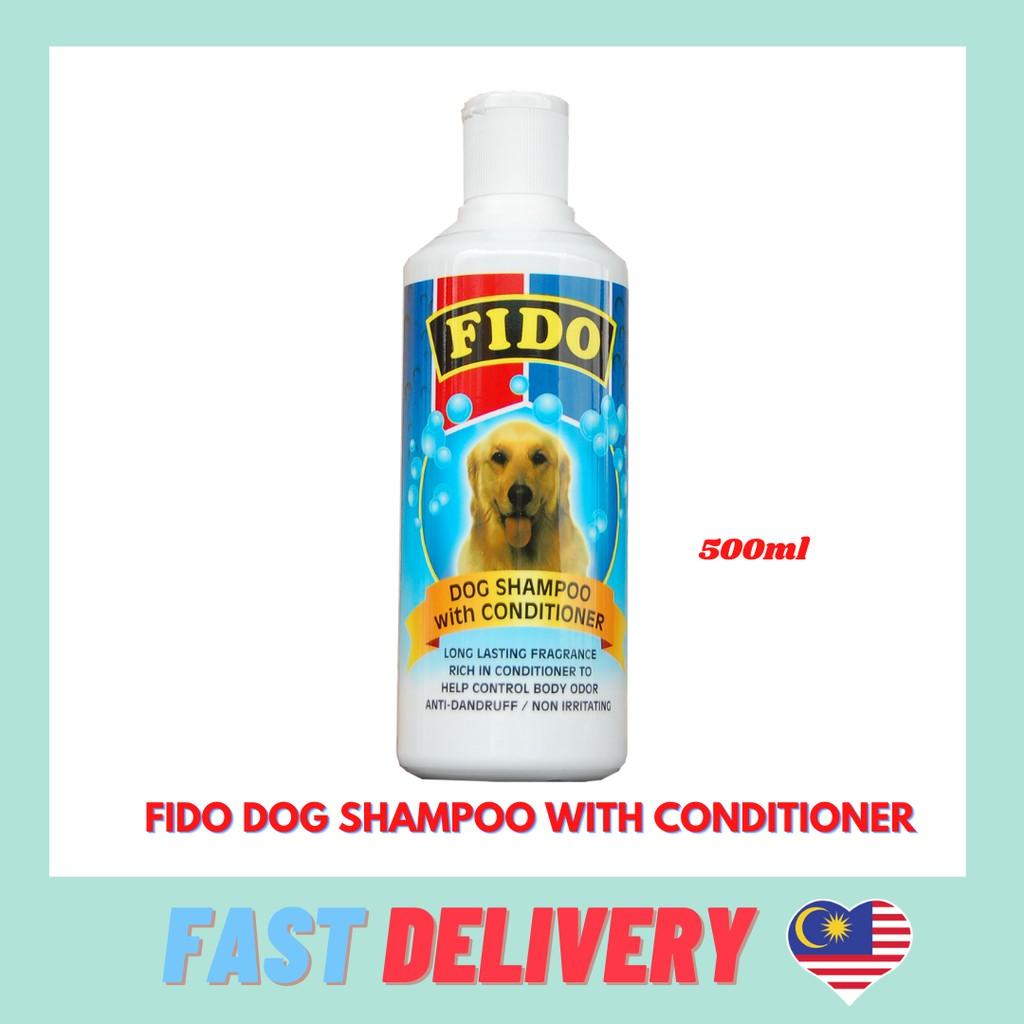 Fido Dog SHampoo With Conditioner 500ml